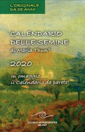 CALENDARIO DELLE SEMINE 2020